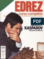 Ajedrez, Curso Completo 3 - Kasparov,
