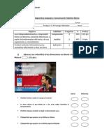 Evaluación Diagnostica Lenguaje y Comunicación Séptimo Básico