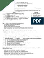 Assessment in Grammar