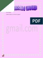 Recorrido word2