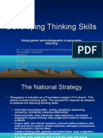 Developing Thinking Skills