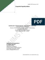 Congenital Hypothyroidism_AIIMS Protocol