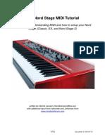 Nord Stage MIDI v2