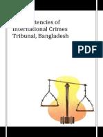 Inconsistencies of International Crimes Tribunal, Bangladesh