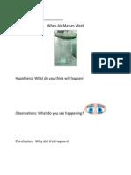 when air masses meet experiment