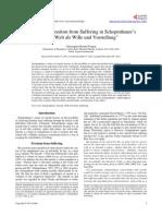 """Suicide and Freedom from Suffering in Schopenhauer's  """"Die Welt als Wille und Vorstellung"""""""
