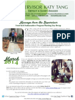 Supervisor Tang's March Newsletter (English)