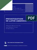 Privatizations en LatinAmerica - BID - 1993