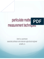 Measurement of Particulate