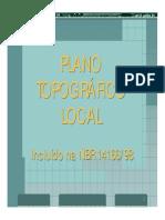 Plano Topografico Local