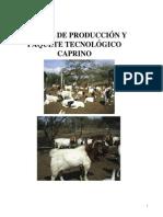 Produccion de Caprinos