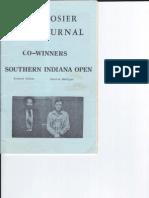 Hoosier Chess Journal Vol. 3, No. 1 Jan-Feb 1981