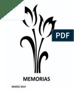 memorias Marzo