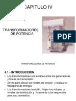 Potencias - Cap IV - Transformadores de Potencia