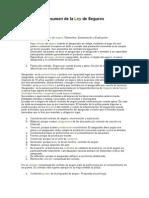 Argentina - Resumen de La Ley de Seguros