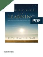 LIVROS RAROS - Aprender Mais (M. Russel Ballard - Em Portugues)