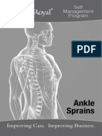 Self Management Program Ankle Sprain