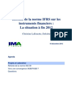 IMA.20121218 IFRS Instruments Financiers