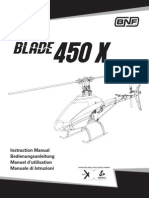 Blade® 450 X Instruction manual