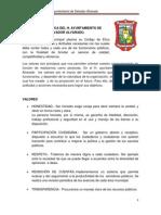 Codigo de Etica Del h Salvador Alvarado