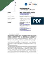 Fundamentos de Administración y Gerencia - César Cadavid - 201210