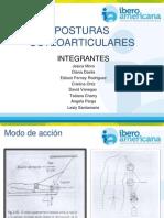 POSTURAS OSTEOARTICULARES