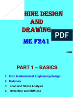 Machine design and drawing ch1 and ch2