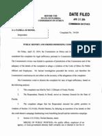 Pam Bondi Attorney General Ethics Complaint