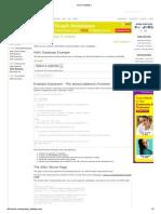 AJAX Database