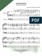 JMRB - Dadalhin (Piano Sheet)