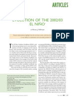 Evolution of El Nino 2002-03 - McPhaden