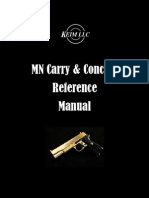 MN Permit to Carry Reference Manual