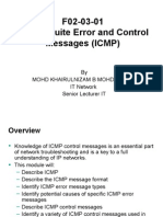 F02!03!01 TCPIP Suite Error and Control Messages