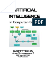Artificial Intelligence in Games