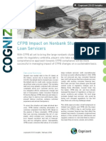 CFPB Impact on Nonbank Student Loan Servicers