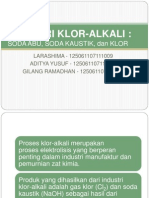 Industri Klor Alkali
