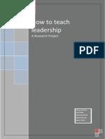 Leadership--Research Paper