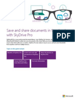 Introduction - SKYDRIVE Pro