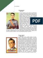 Talambuhay Ng Mga Pangulo Ng Pilipinas