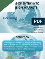 Ib Licensing
