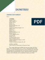 Petru Dumitriu-Cronica de Familie V2