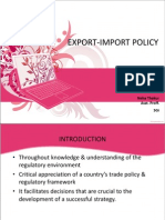 EXIM Policy Ppt 2