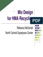 HMA Mix Design