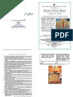 2014 Tone 4 9 Mar 37ap 5trio 1lent Orthodoxy