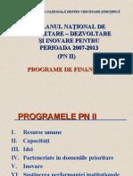 Cursul 5 Programul PN II