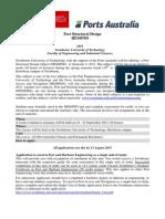 HES6PSD Port Structural Design Flyer 110614