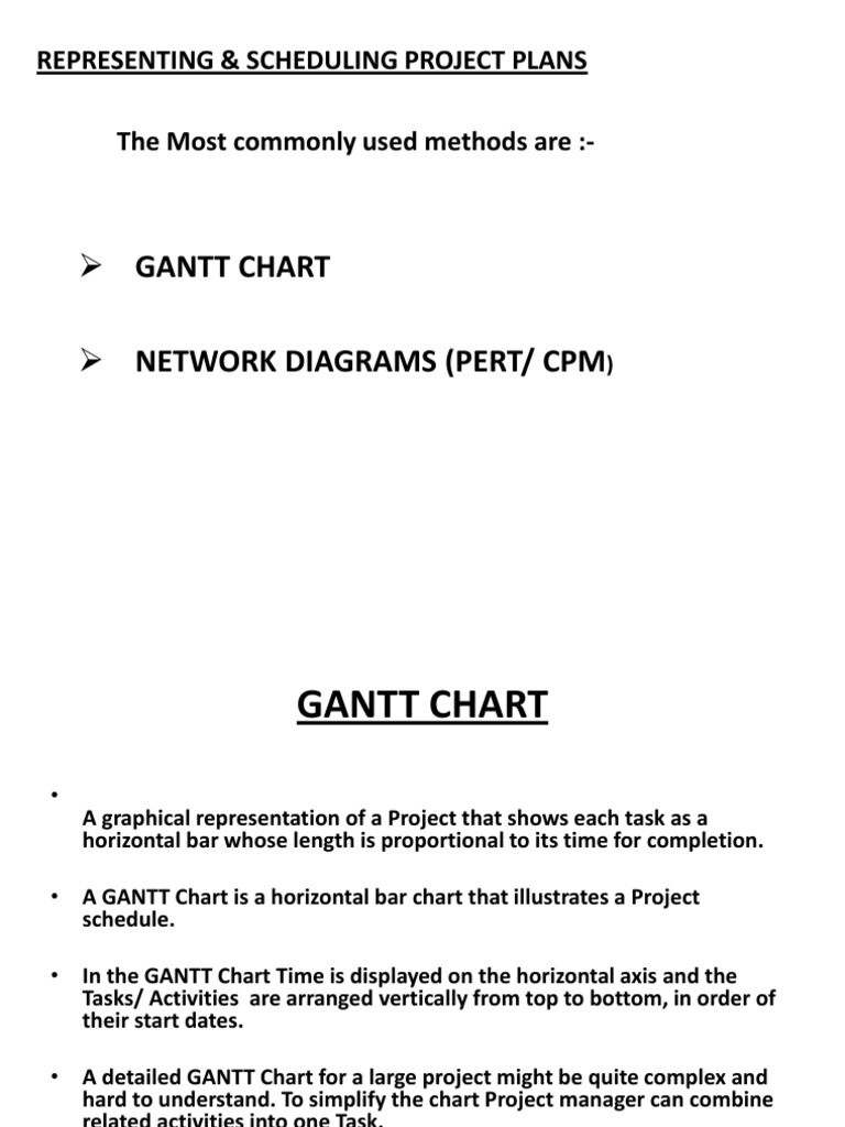 Gantt And Pert Chart Infographics Systems Science