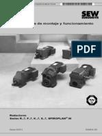 Betriebsanleitung Getriebe (SP)