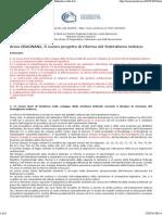 Anna GRAGNANI, Il Nuovo Progetto Di Riforma Del Federalismo Tedesco