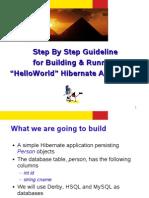 Hibernate Step by Step